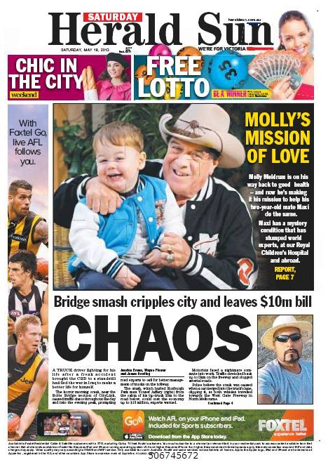 herald sun newspaper � whats wrong with maxi